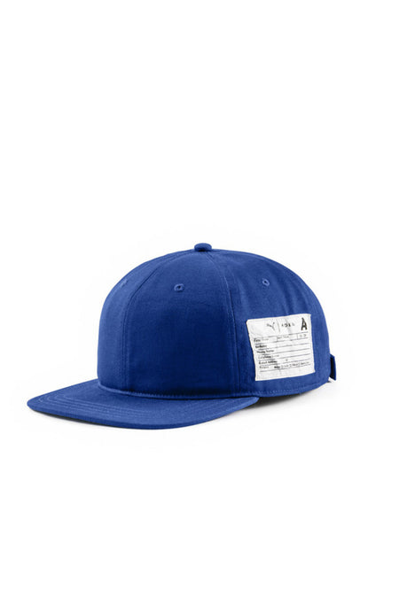 Washed Oxford Canvas Cap Navy