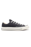 Black  Canvas Low Chuck 70
