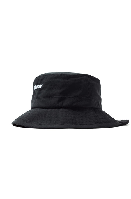 Washed Cords Cap Black