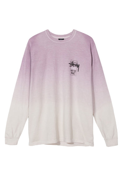 Offering Dip Dyed Ls Tee Purple