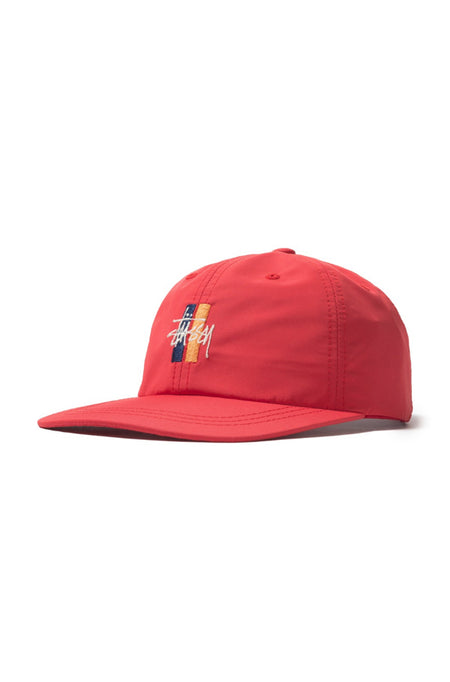 Washed Oxford Canvas Cap Red