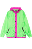 Honey Comb Jacket Green
