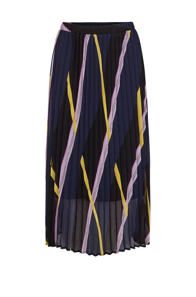 Moe Pleated Skirt Diagonal