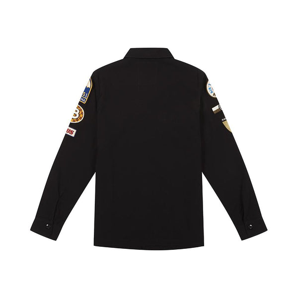 Monty Overshirt Black