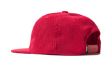 Washed Cords Cap Red