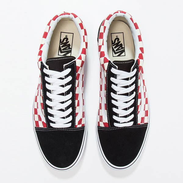 UA Old Skool checkerboard
