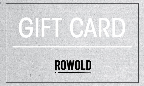 ROWOLD Gift Card -