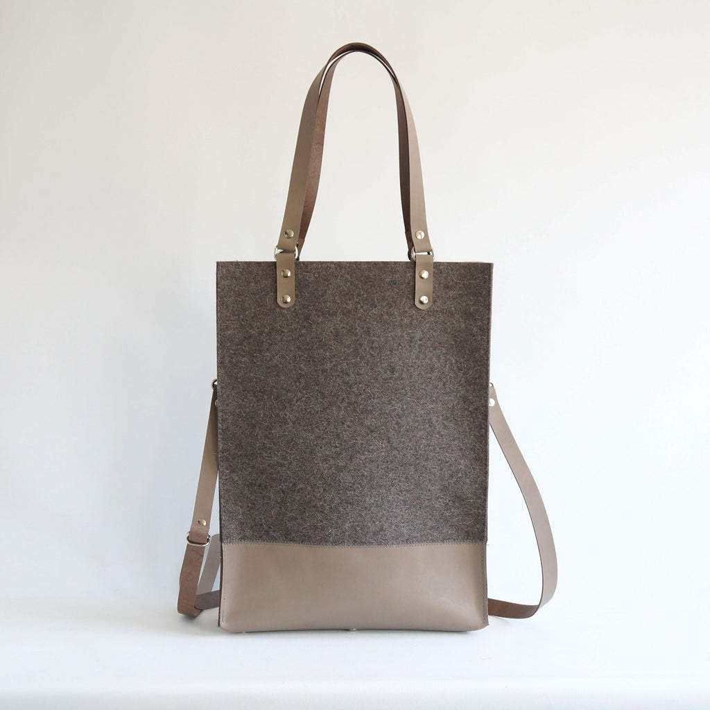 cross body tote | Sendai | vilt tas - studio ROWOLD