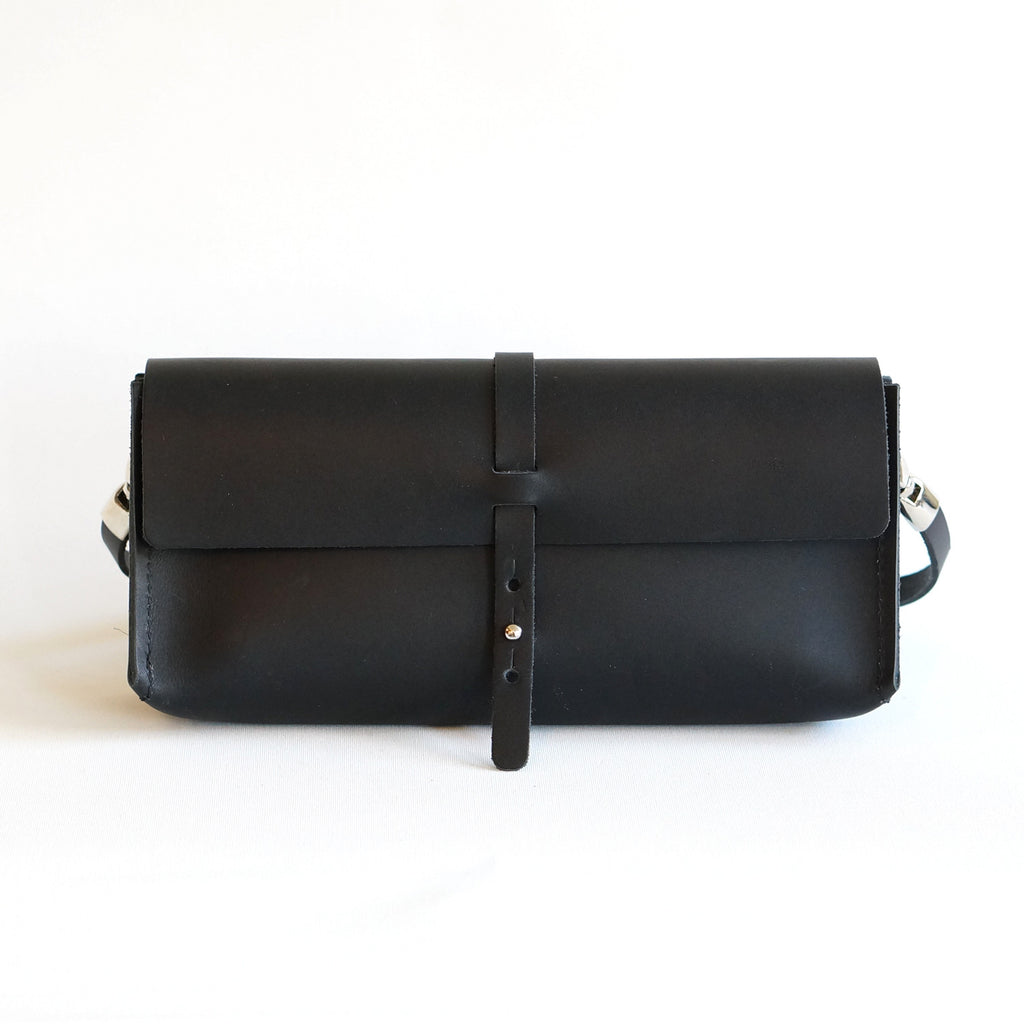 leather clutch | bag Uppsala | tasje in leer - studio ROWOLD