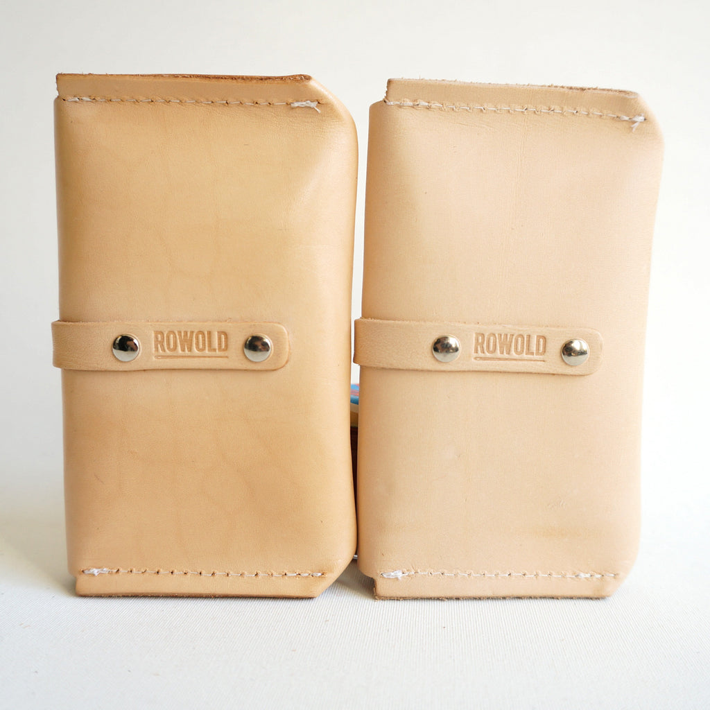 leather case Byrne - leder hoesje - studio ROWOLD
