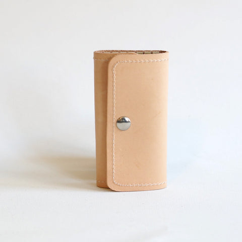 leather key wallet - Chiswick - sleutel etui - studio ROWOLD
