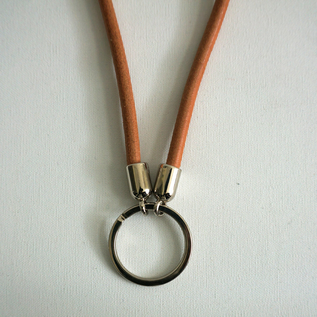 leather key fob - Fulda - sleutelhanger - studio ROWOLD