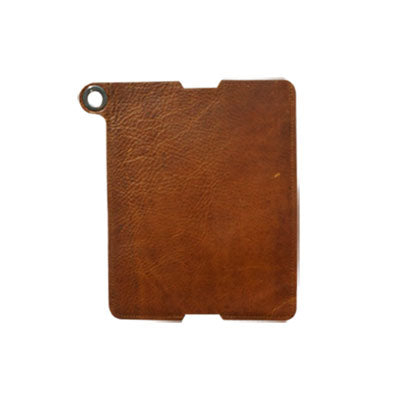leather iPad sleeve Helsinki - lederen iPad hoes - studio ROWOLD