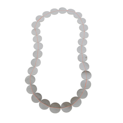 leatherette necklace Lisbon - lacq ketting -