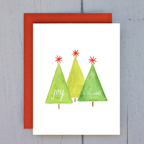 singing trees card