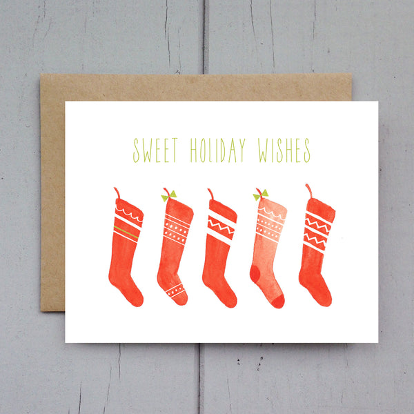 stockings card