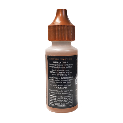 1 OZ BOTTLE AND REFILLABLE ¼ OZ PRECISION OILER