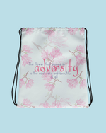 "Load image into Gallery viewer, ""Adversity"" Drawstring bag"