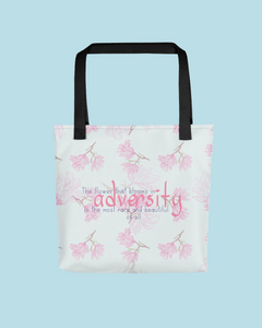 """Adversity"" Tote bag"