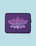 "Load image into Gallery viewer, ""Rivers of Light"" Laptop Sleeve"