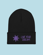"Load image into Gallery viewer, ""Live Your Dream"" Toque"