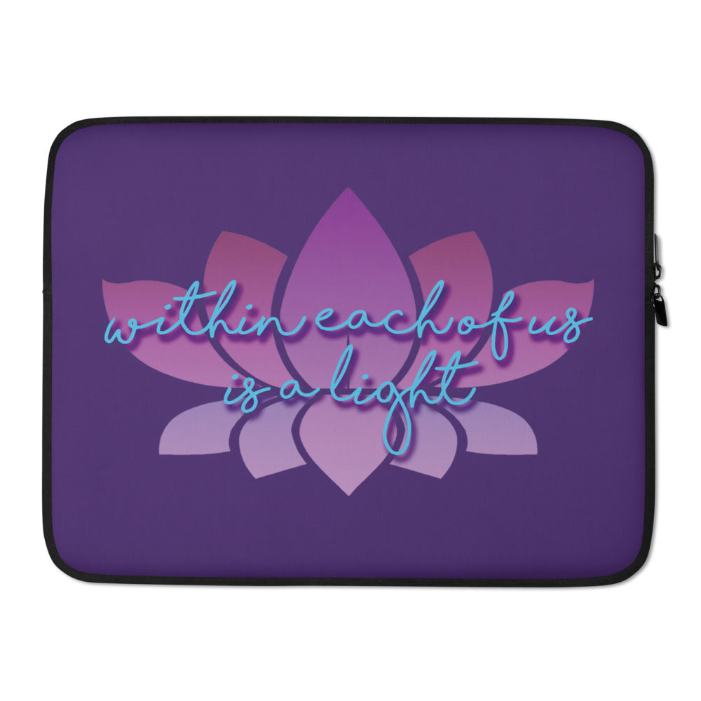 """Rivers of Light"" Laptop Sleeve"