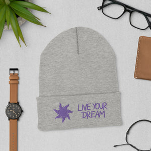 """Live Your Dream"" Toque"