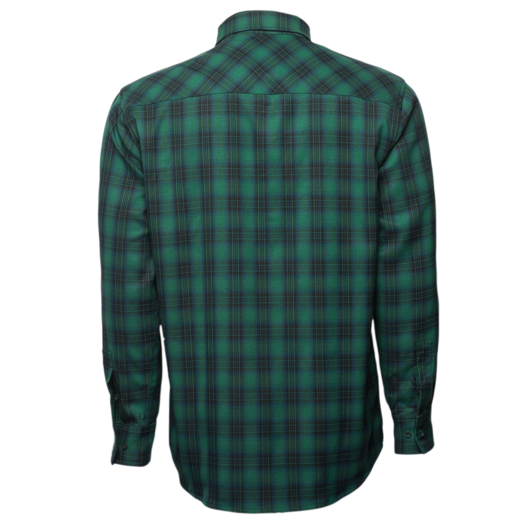 Green Frankenstein Flannel