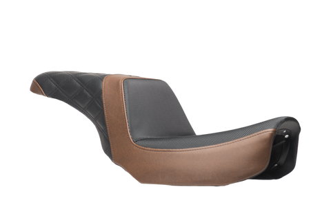 06-17 Brown & Black Dyna Seat
