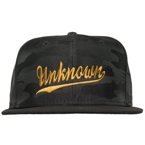 original new era hat (black camo)