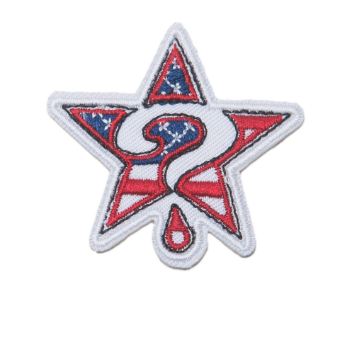 USA Star Logo Patch (Stick on)