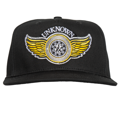 WING WHEEL BLACK HAT