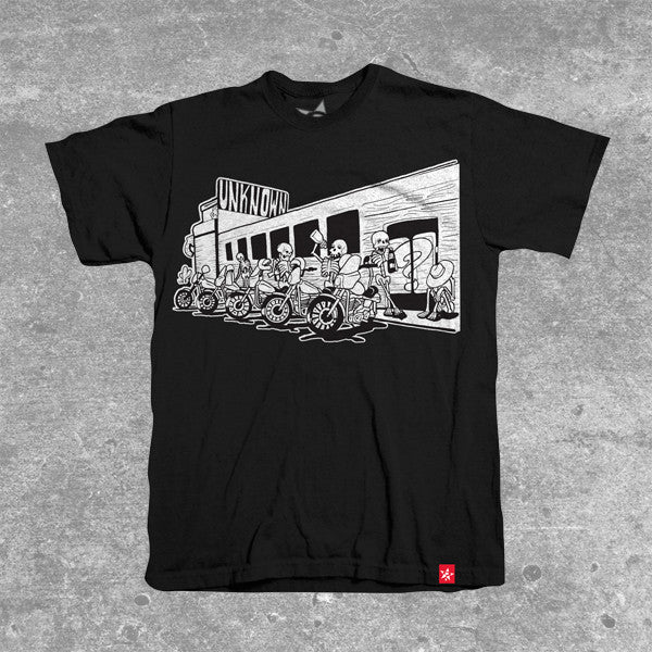 """Sunday Cruise Black"" T-Shirt"