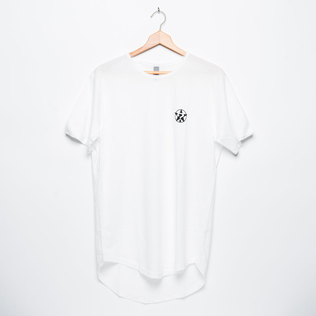 Scallop T-Shirt White