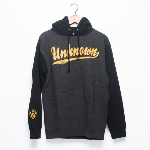 Unknown Black/Heather - Gold Hoodie
