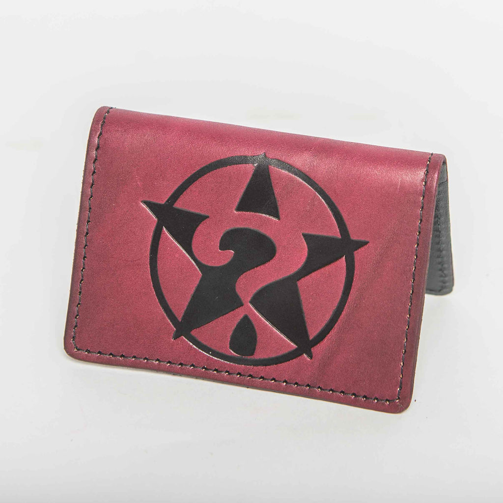 Ox Blood Leather Pocket Wallet