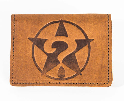 Brown Leather Pocket Wallet
