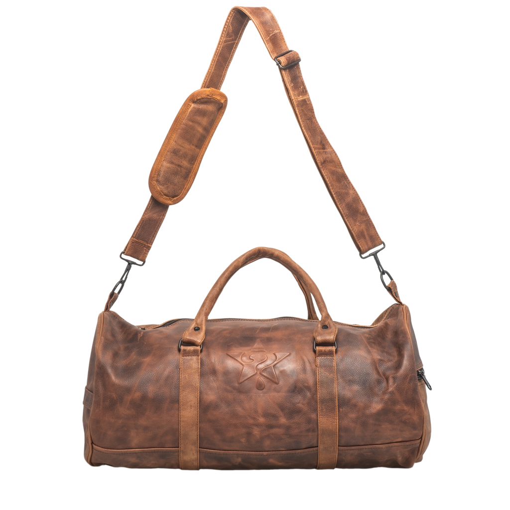Brown Leather Money Bag