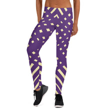 Load image into Gallery viewer, Violet and Yellow-ish Leggings