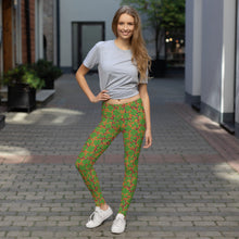 Load image into Gallery viewer, New St. Patrick's day Clover Leggings
