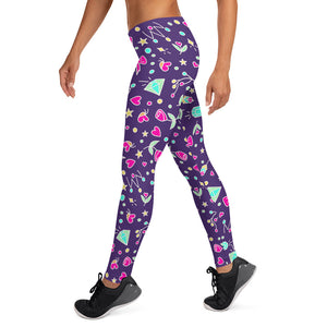Violet Happy Leggings V2.