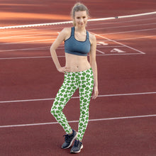 Load image into Gallery viewer, St.Patrick's clover Leggings