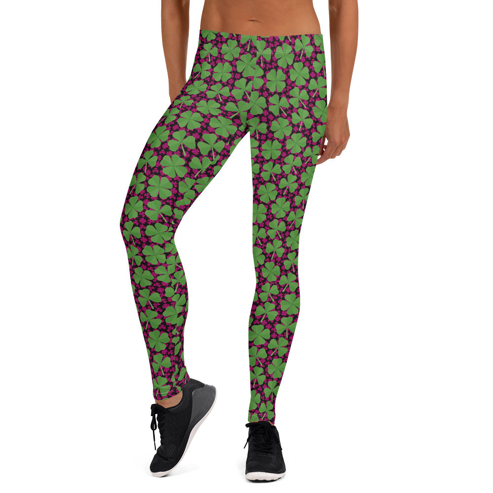 New St. Paddy's Clover Leggings