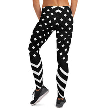 Load image into Gallery viewer, Black and white Leggings