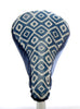 Diamonds II Waterproof Saddle Cover - Blue