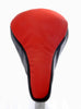 Ferrari II Saddle Cover - Red & Black Leather