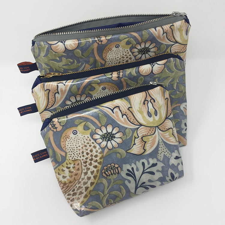 Bicycle Seat Cover Pouch - William Morris
