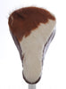 Rambo Saddle Cover - Brown Cow Hide