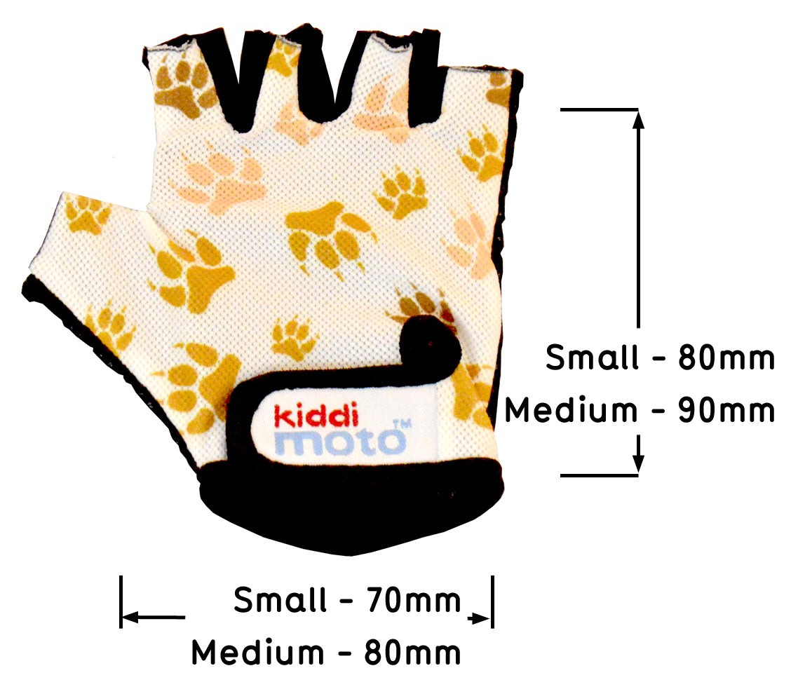 Kids Bicycle Gloves - Paws