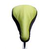 Soft Avocado II Saddle Cover - Lime & Brown